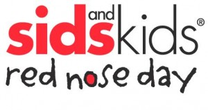 Sids & Kids Red Nose Day logo