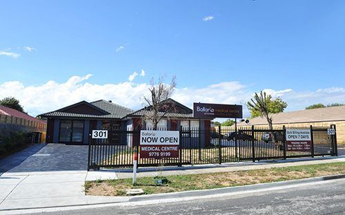 Medical centre Ballarto Carrum Downs